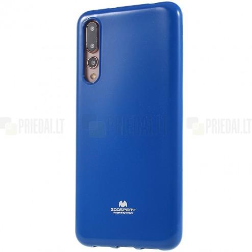 Huawei P20 Pro Mercury tumši zils cieta silikona (TPU) apvalks