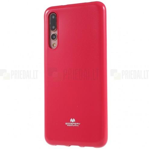 Huawei P20 Pro Mercury tumši rozs cieta silikona (TPU) apvalks