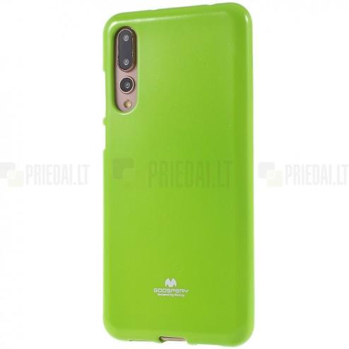 Huawei P20 Pro Mercury zaļš cieta silikona (TPU) apvalks