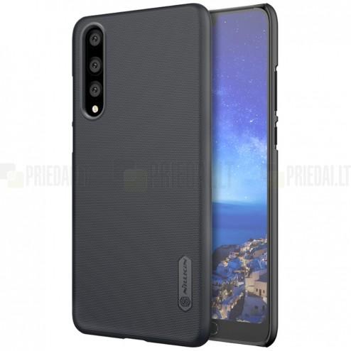 Nillkin Frosted Shield Huawei P20 Pro melns plastmasas futrālis
