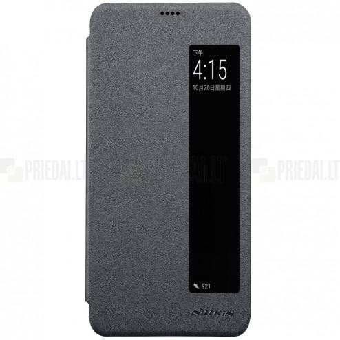 "Huawei P20 Pro ""Nillkin"" Sparkle atvēramais pelēks maciņš"