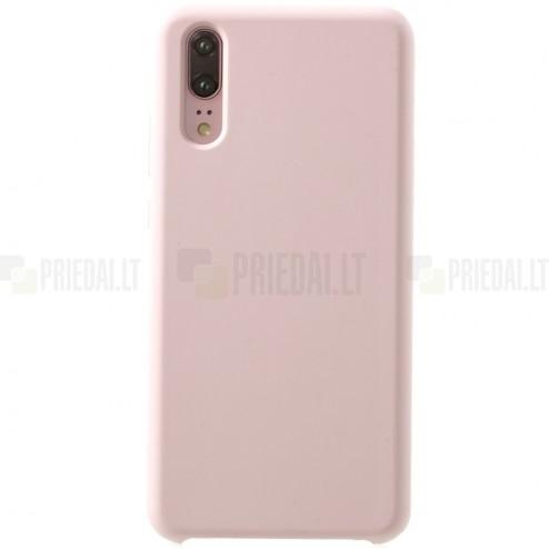 Huawei P20 Shell cieta silikona (TPU) apvalks - rozs