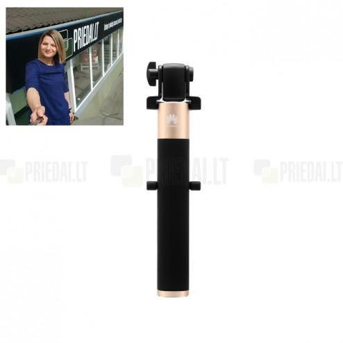 """""""Huawei"""" teleskopiskais selfija zelta statīvs-turētājs – monopod"""