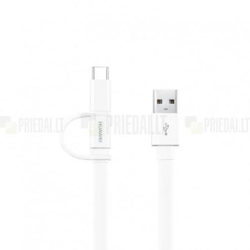 """Huawei"" micro USB + Type-C balts vads 1,5 m. (origināls) (AP-55S)"