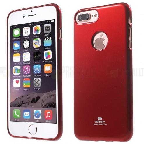 Apple iPhone 7 Plus (iPhone 8 Plus) Mercury sarkans cieta silikona (TPU) apvalks
