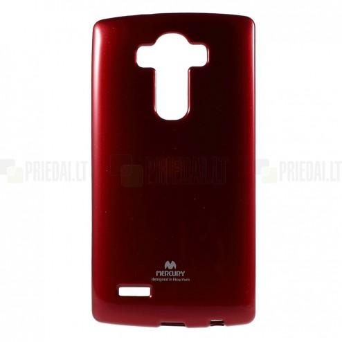 LG G4 (H815) Mercury sarkans cieta silikona (TPU) apvalks