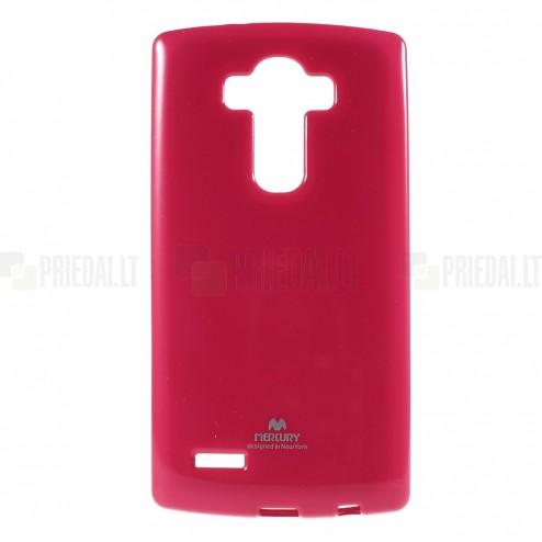 LG G4 (H815) Mercury tumši rozs cieta silikona (TPU) apvalks