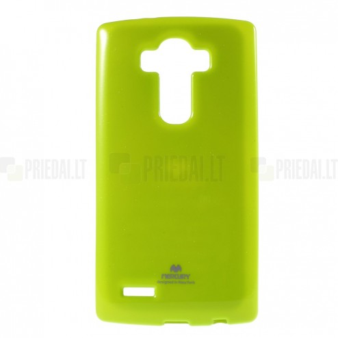 LG G4 (H815) Mercury zaļš cieta silikona (TPU) apvalks