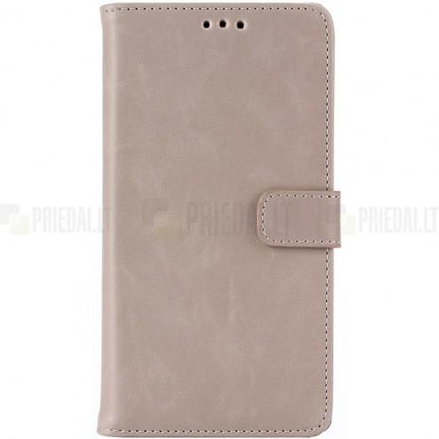 LG G4 H815 atvēramais ādas smilšains retro maciņš (maks)