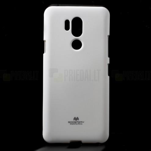 LG G7 ThinQ Mercury balts cieta silikona (TPU) apvalks