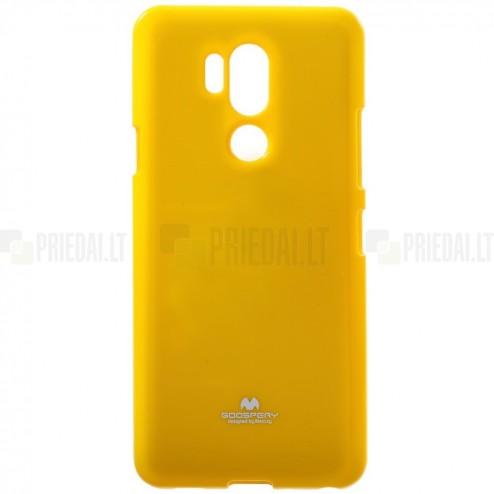 LG G7 ThinQ Mercury dzeltens cieta silikona (TPU) apvalks