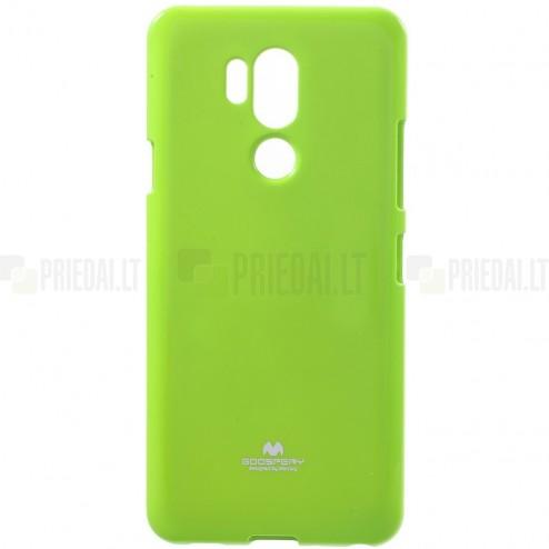LG G7 ThinQ Mercury zaļš cieta silikona (TPU) apvalks