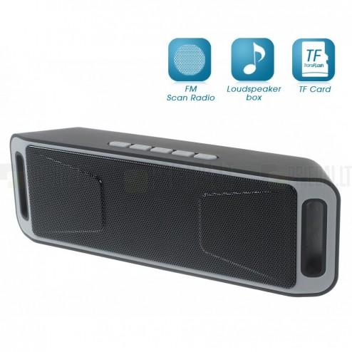 """A2DP"" Stereo kompakts melns bezvadu skaļrunis"