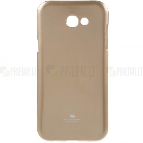 Samsung Galaxy A5 2017 (A520) Mercury zelta cieta silikona (TPU) apvalks