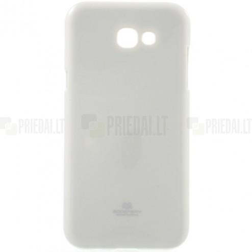 Samsung Galaxy A5 2017 (A520) Mercury balts cieta silikona (TPU) apvalks