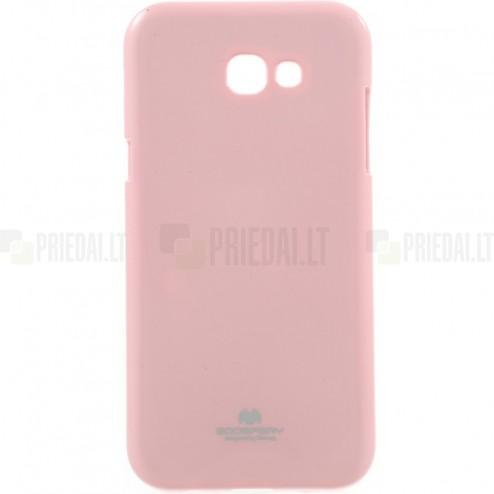 Samsung Galaxy A5 2017 (A520) Mercury gaiši rozs cieta silikona (TPU) apvalks