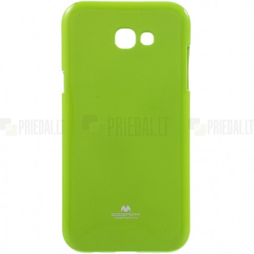 Samsung Galaxy A5 2017 (A520) Mercury zaļš cieta silikona (TPU) apvalks