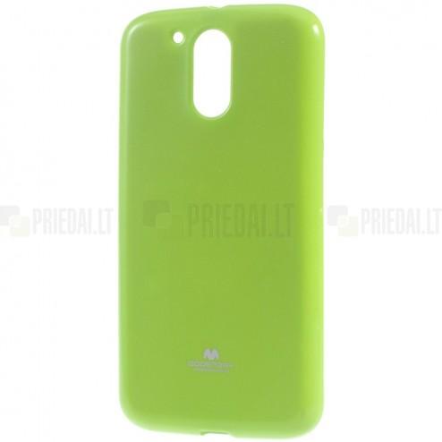 Motorola Moto G4, Moto G4 Plus Mercury zaļš cieta silikona (TPU) apvalks
