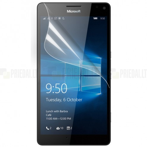 Microsoft Lumia 950 XL dzidra ekrāna aizsargplēve