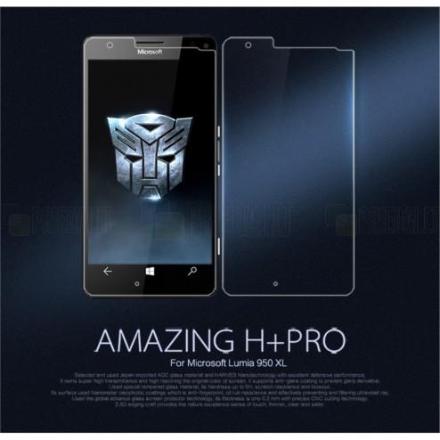 """Microsoft Lumia 950 XL """"Nillkin"""" Amazing H+ Pro Tempered Glass ekrāna aizsargstikls"""