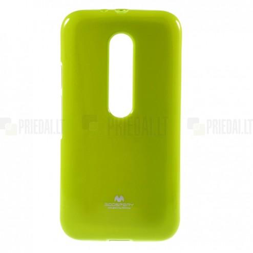 Motorola Moto G 3rd (3 Gen) Mercury zaļš cieta silikona (TPU) apvalks