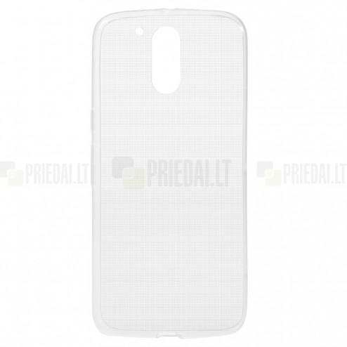 Motorola Moto G4, Moto G4 Plus dzidrs (caurspīdīgs) cieta silikona TPU pasaulē planākais apvalks