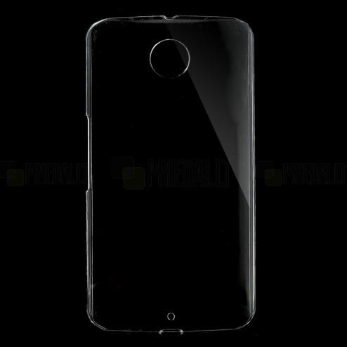 Motorola Nexus 6 plastmasas dzidrs (caurspīdīgs) apvalks