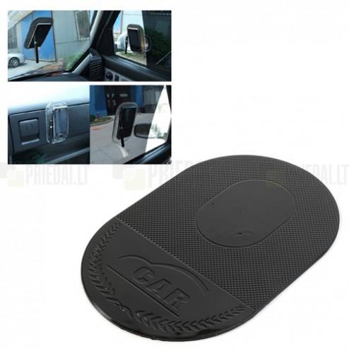 Sticky pad melns lipīgs silikona nano anti slip paklājiņš (XL lielums)