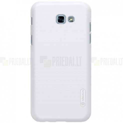Samsung Galaxy A5 2017 (A520) Nillkin Frosted Shield balts plastmasas apvalks + ekrāna aizsargplēve