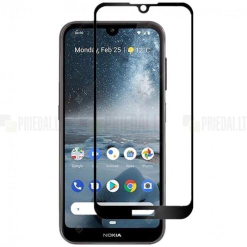 """Nokia 2.2 (2019) """"Rurihai"""" Tempered Glass melns ekrāna aizsargstikls"""