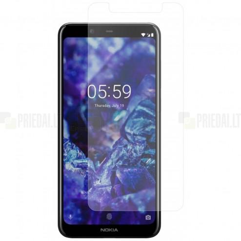 Nokia 3.1 Plus (2018) dzidrs ekrāna aizsargstikls (Tempered Glass)