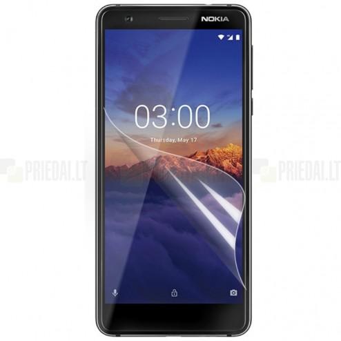 Nokia 3.1 (2018) ekrāna aizsargplēve - dzidra