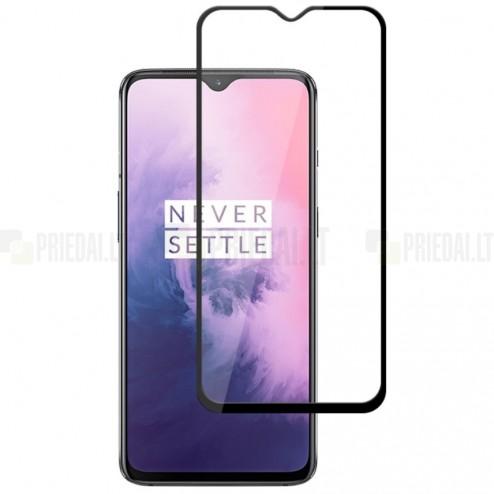 OnePlus 7 (OnePlus Seven) Mocolo Tempered Glass melns ekrāna aizsargstikls