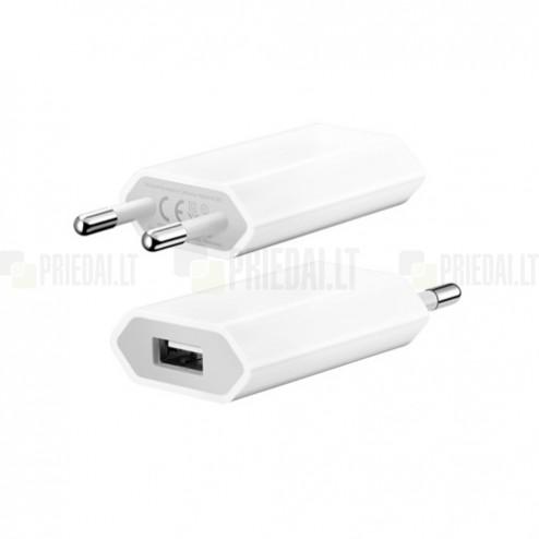 """Oficiāls """"Apple"""" 5W baltas lādētājs A1400 (1A)"""
