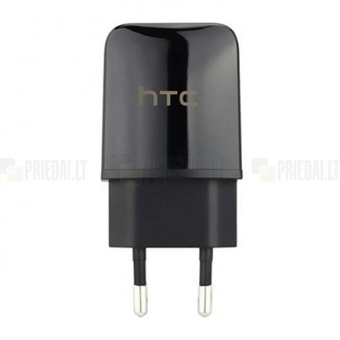 """Origināls """"HTC"""" melns tīkla lādētājs (TC-P900, Eiropas modelis)"""
