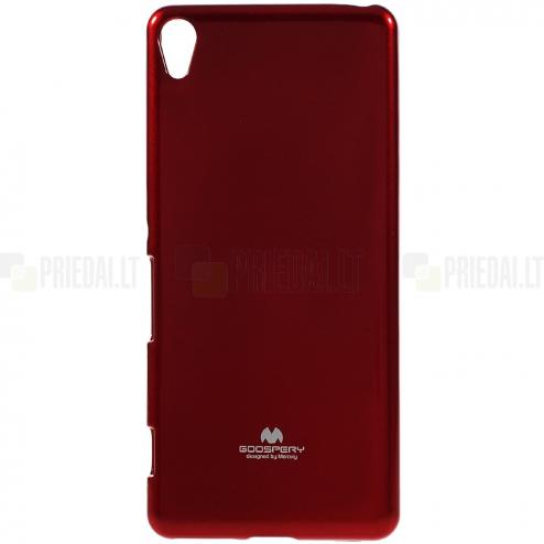 Sony Xperia XA Mercury raudonas kieto silikono tpu dėklas - nugarėlė