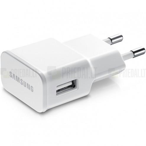 """Origināls """"Samsung"""" balts tīkla lādētājs (2 Amp, ETA-U90EWE)"""