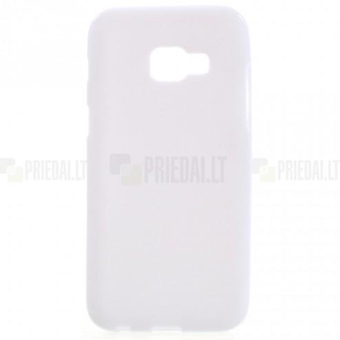 Samsung Galaxy A5 2017 (A520) cieta silikona (TPU) balts apvalks