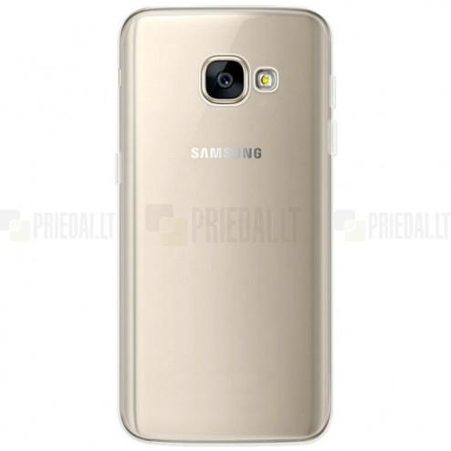 Samsung Galaxy A5 2017 (A520) dzidrs (caurspīdīgs) cieta silikona TPU pasaulē planākais apvalks