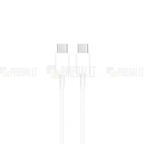 Oficiāls Samsung Type-C Type-C balts vads 1 m. (EP-DA705BWE, origināls)