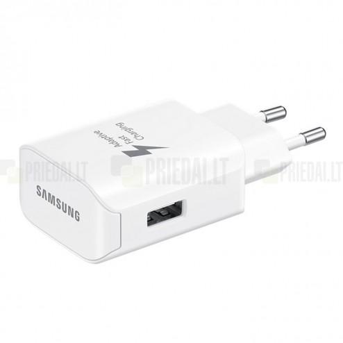 """Origināls """"Samsung"""" Adaptive Fast Charging EP-TA300 balts tīkla lādētājs (Eiropas modelis 2A)"""