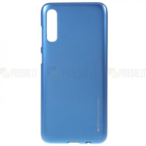 Samsung Galaxy A70 (A705F) Mercury zils cieta silikona (TPU) apvalks