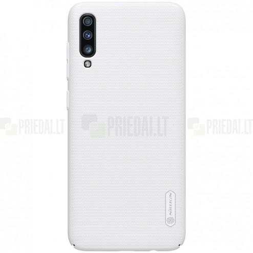 Samsung Galaxy A70 (A705F) Nillkin Frosted Shield balts plastmasas apvalks