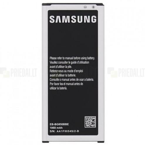 Samsung Galaxy Alpha (G850) akumulators (EB-BG850BBE, 1860 mAh, vidējais, originals)