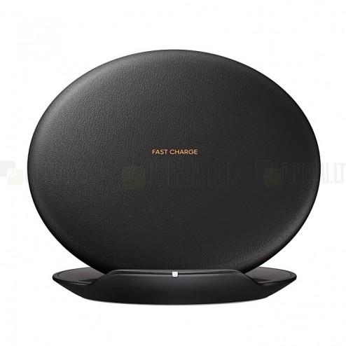 Origināls Samsung Fast Wireless Charging melns bezvadu lādētājs (EP-PG950, Qi standarts)