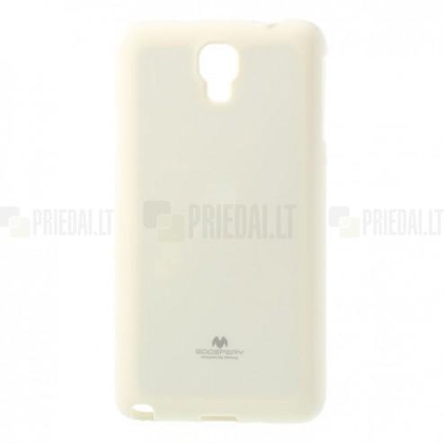 Samsung Galaxy Note 3 Neo Mercury balts cieta silikona (TPU) futrālis