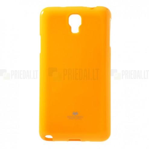 Samsung Galaxy Note 3 Neo Mercury dzeltens cieta silikona (TPU) futrālis