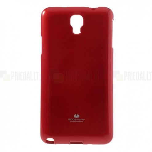 Samsung Galaxy Note 3 Neo Mercury sarkans cieta silikona (TPU) futrālis