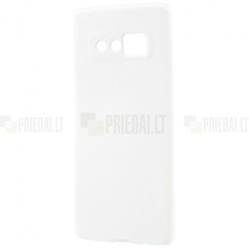Samsung Galaxy Note 8 (N950F) cieta silikona (TPU) balts apvalks