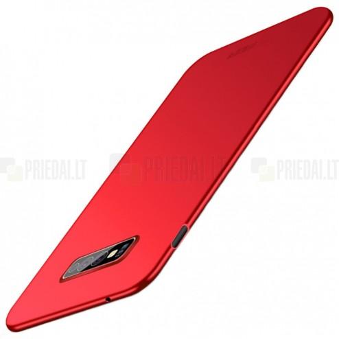 "Samsung Galaxy S10e (G970) ""Mofi"" Shield sarkans plastmasas apvalks"